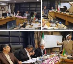 نشست مشترک اعضای کمیسیون اقتصادی مجلس با رئیس سازمان مالیاتی کشور در مشهد